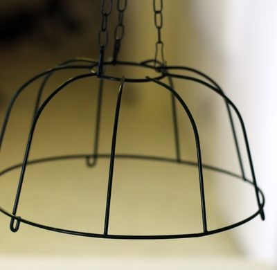 You Can Also Turn The Basket Upside Down To Use As Base For A Chandelier But If Decide Bead It Same Way Ll Need Add Of