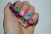 tutorial marbled nail polish