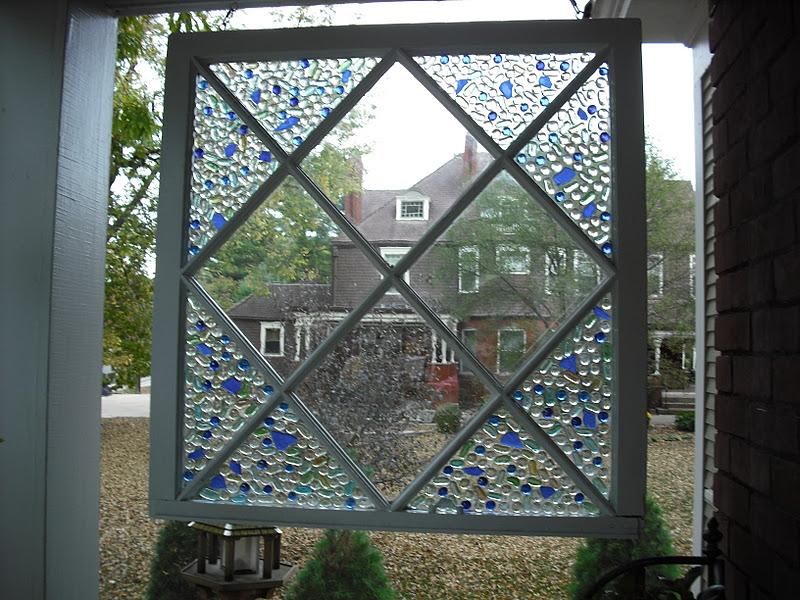 Make a Decorative Mosaic Window  Dollar Store Crafts