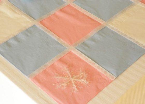 Paper Napkin Table Runner