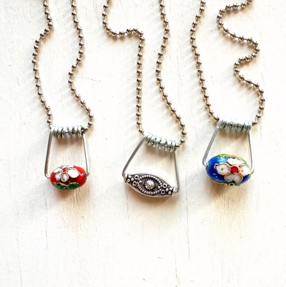 Make Wire Jewelry With Clothespins Dollar Store Crafts