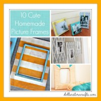 Cute Ideas For Picture Frames - Frame Design & Reviews
