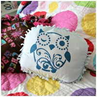 Tutorial: No-Sew T-shirt Pillow featuring Tulip Stencils ...