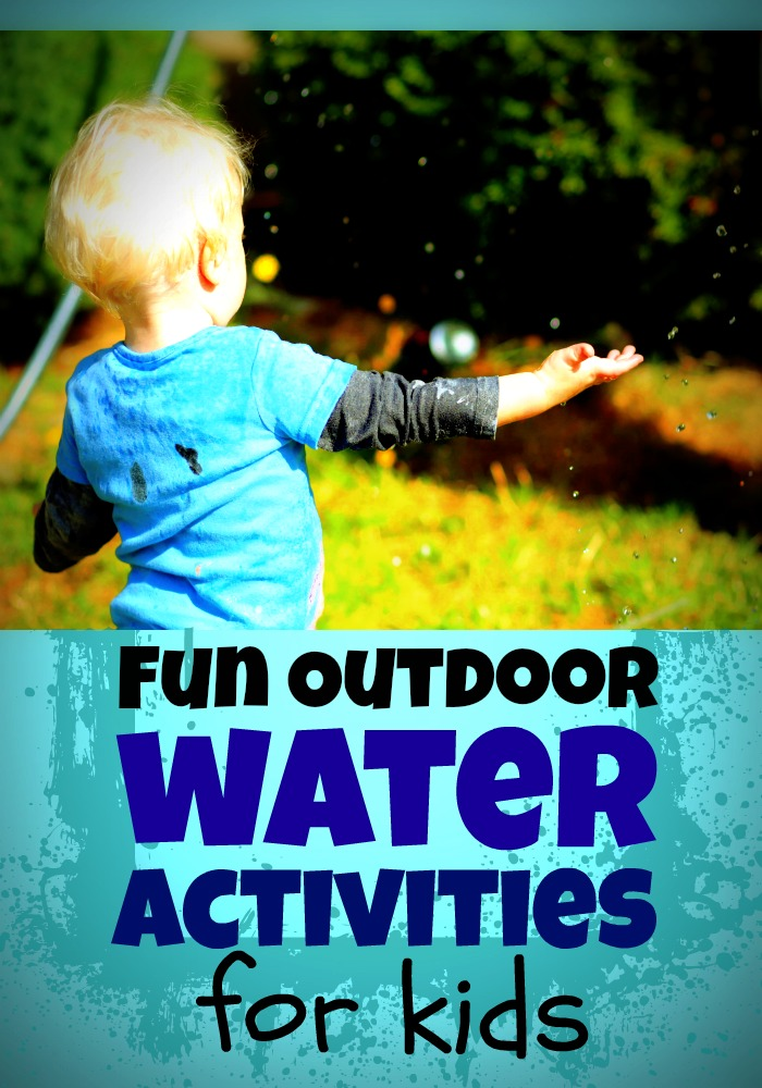 Fun Outdoor Water Play Ideas for Kids with Dollar Store