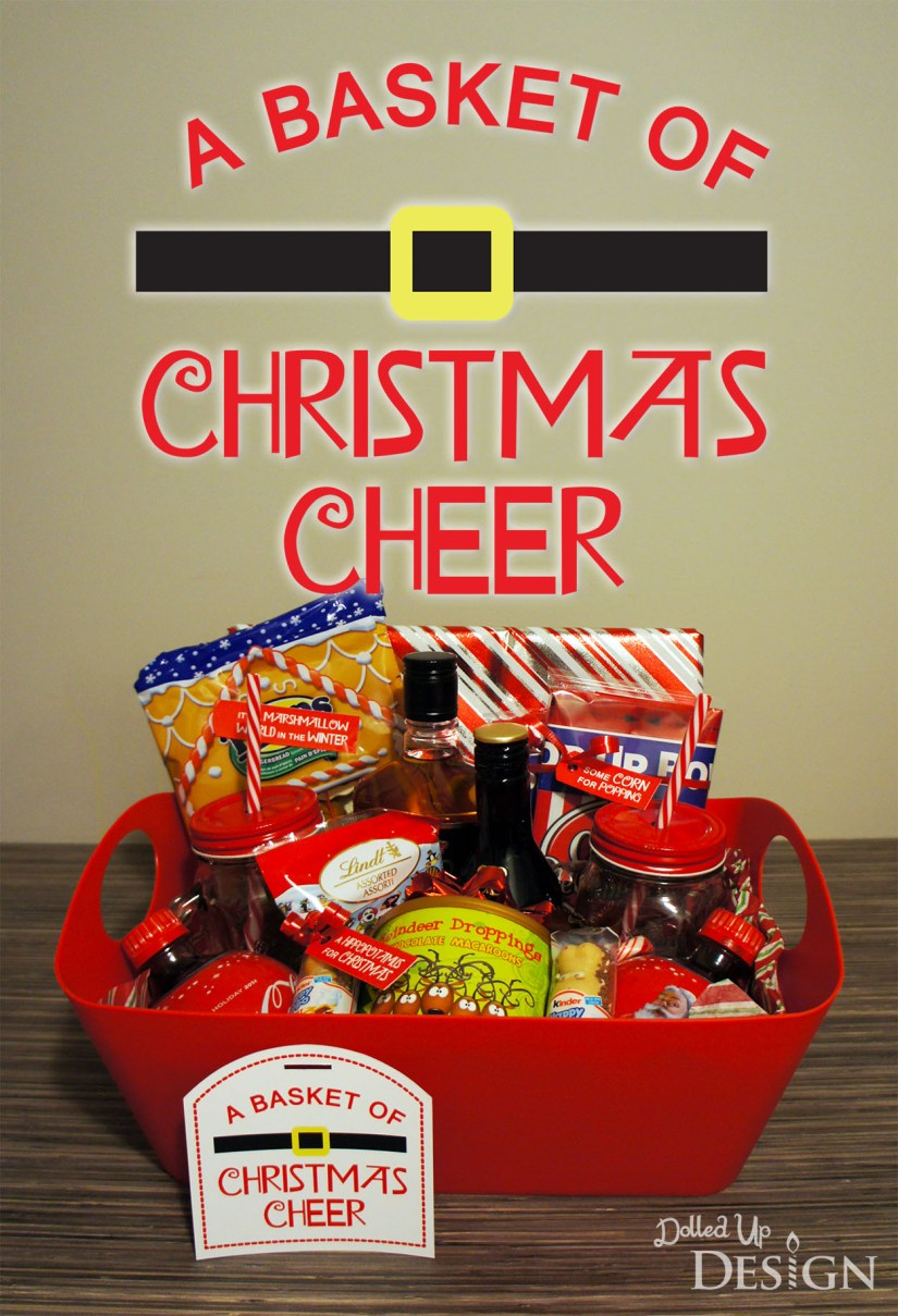 A Basket Of Christmas Cheer