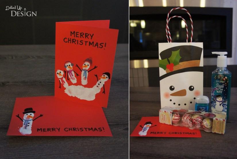Handprint Christmas Gifts