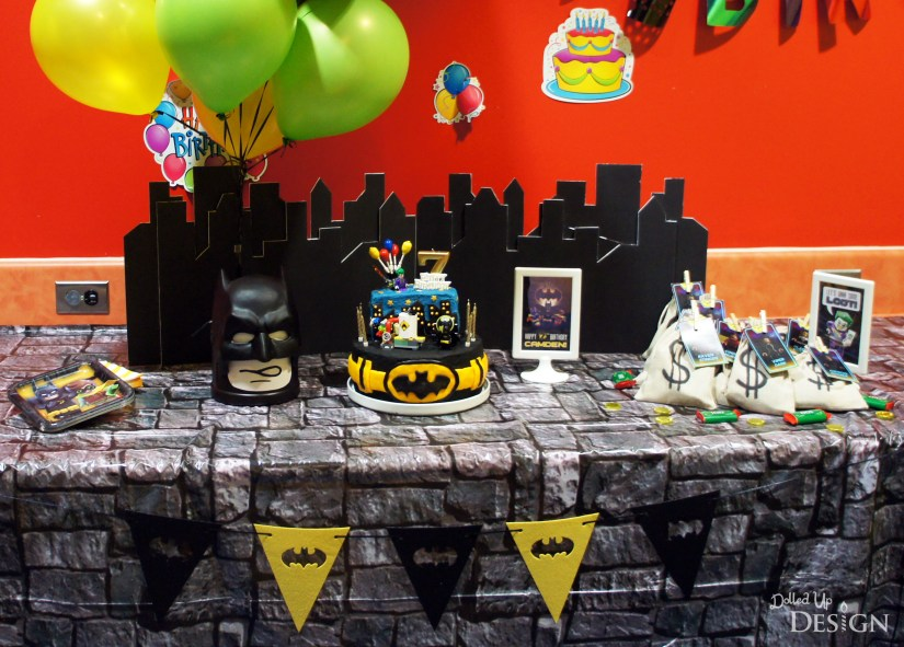 The Lego Batman Movie Popcorn Party