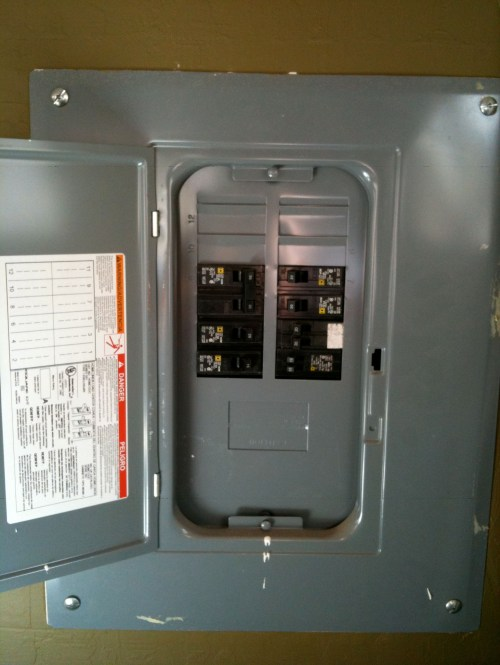 small resolution of sub panel repairs