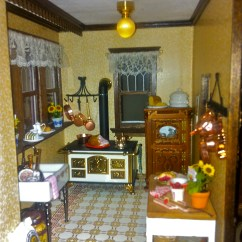 Kitchen Window Coverings Build Your Own Island Beacon Hill Dollhouse | Dollhousediva