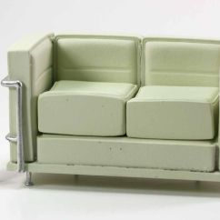 Best Thing To Clean Cream Leather Sofa Southern Motion 884 31 Le Corbusier In With Removable Cushions