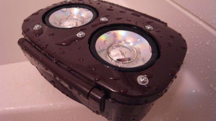 半ジャンク品を集めてお風呂場用音楽プレーヤを自作する