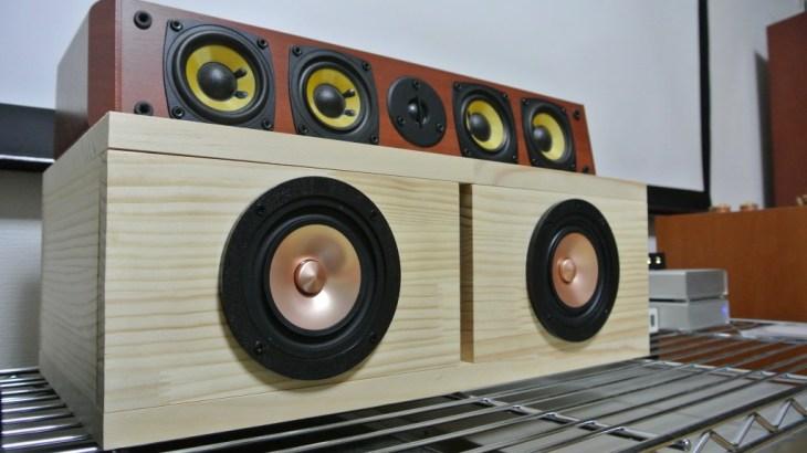 MarkAudio CHR-70v3でセンタースピーカーを制作しました
