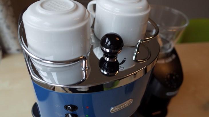 DeLonghi エスプレッソメーカー ECO310で自宅カフェラテ(続:Musetti カフェポッドをもらいました)