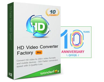 フリーでも結構使える動画の変換とダウンロードソフトHD Video Converter Factory