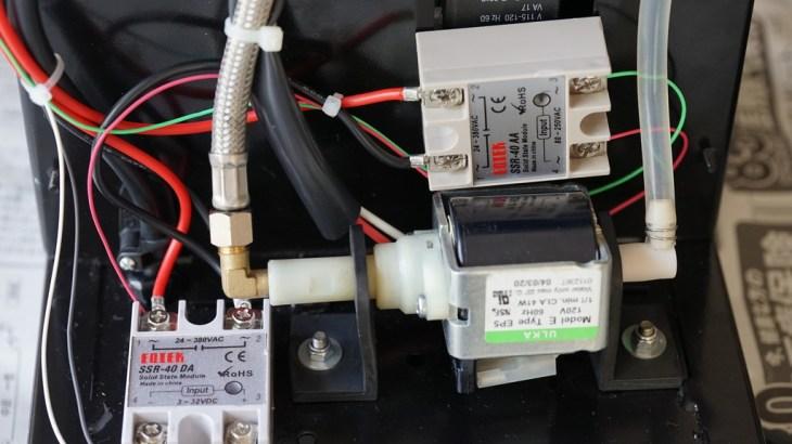 Rancilio Silviaの後付PIDコントローラでスチーム温度も制御する