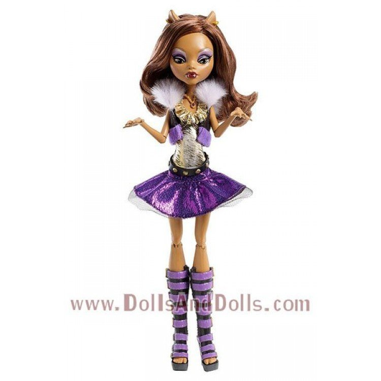 Monster High Doll 27 Cm Clawdeen Wolf Ghoul S Alive Dollsanddolls Collectible Dolls