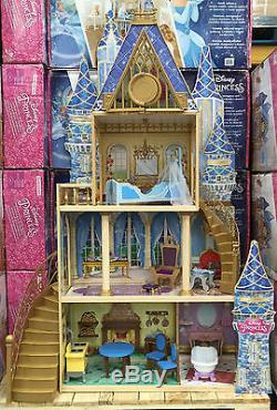 Kidkraft Disney Cinderella Royal Dreams Wooden Dollhouse
