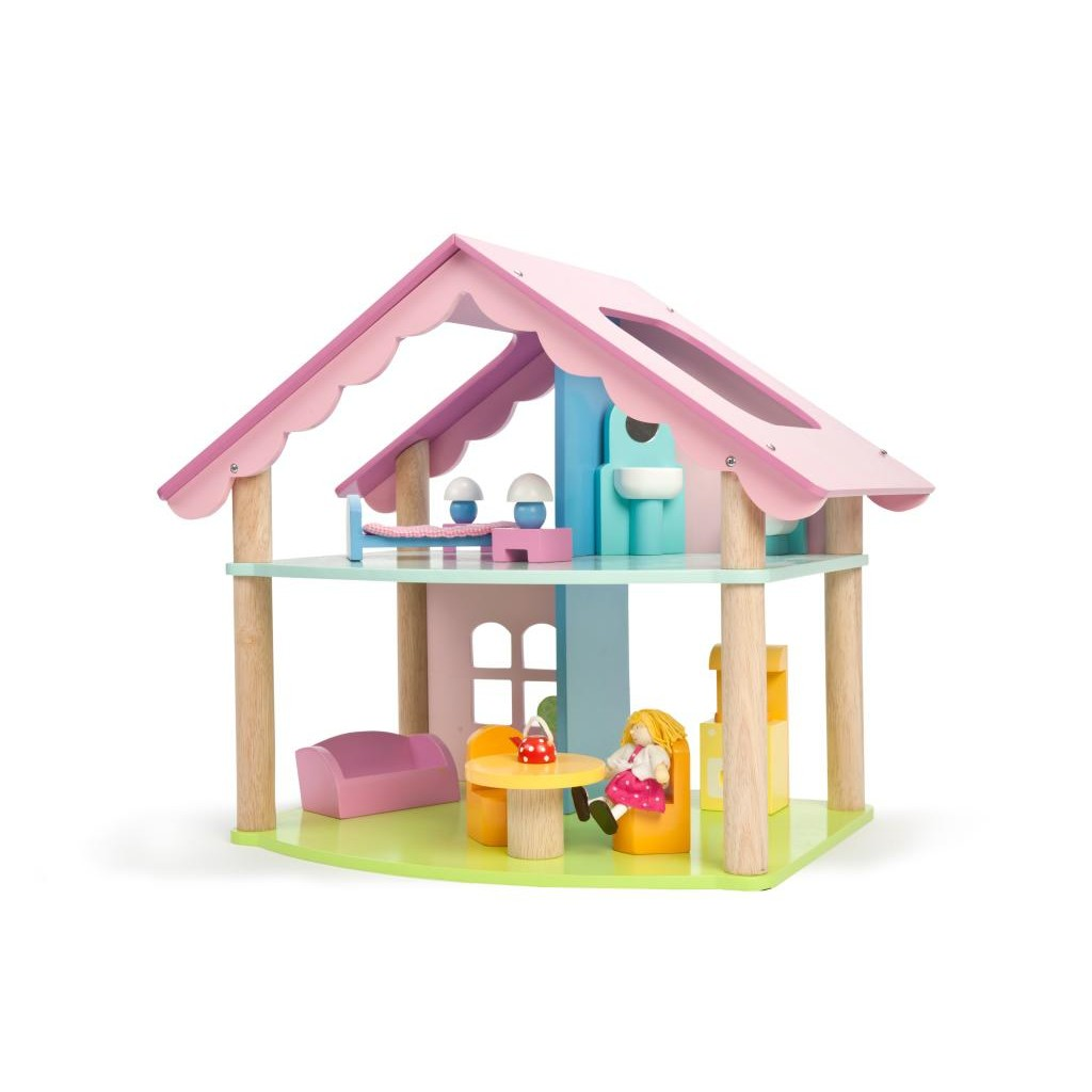 Casa Mia Children's Home Jersey Le Toy Van Mia Casa With Furniture And Doll