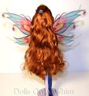 Winx Club Jakks Pacific Bloomix Bloom hair back