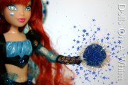 Jakks Pacific Winx Club Special Edition Blue Bloomix San Diego Comic Con magic spell ball 2