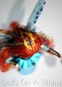 Jakks Pacific Winx Club Special Edition Blue Bloomix San Diego Comic Con top down hair braid
