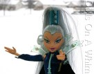 Mattel Winx Club Witch Icy torso head snow scene