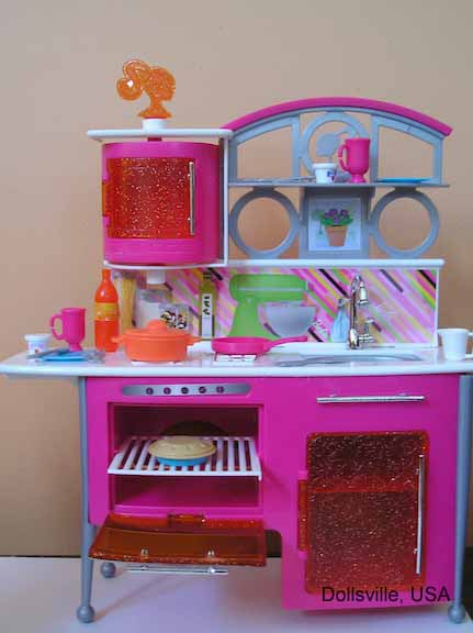 barbie kitchen playset small tables and chairs dollsville usa olympus digital camera