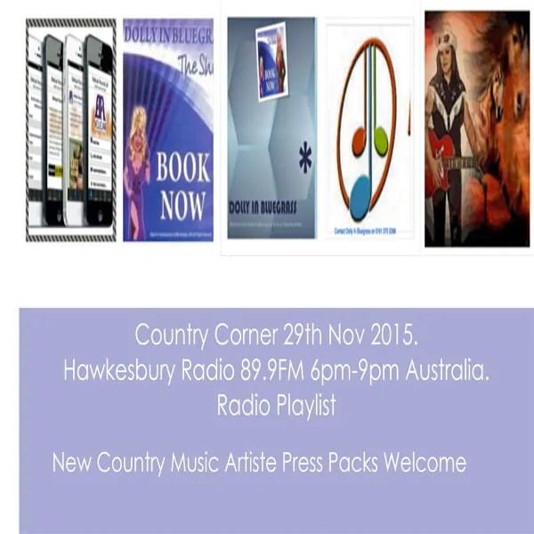 country corner 29th november 2015