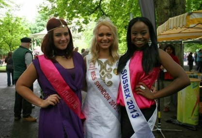 Ayo and other beauty queens