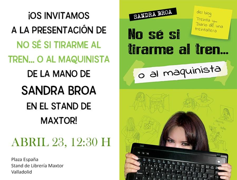Presentación librería maxtor Sandra Broa