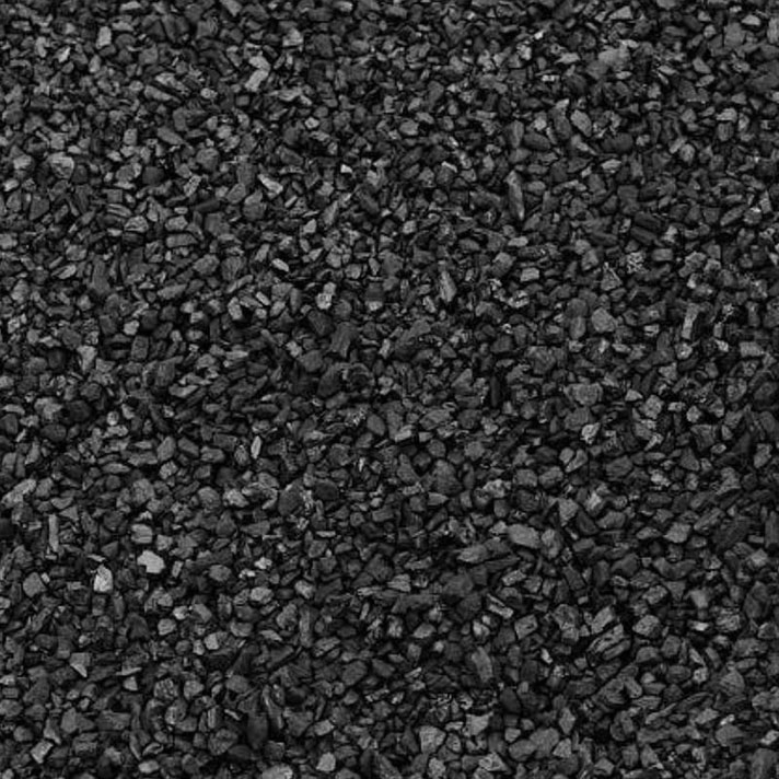 small cobbles of coal