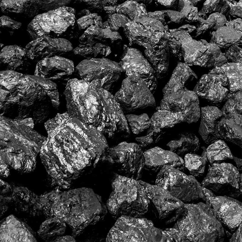 medium-sized cobbles of coal