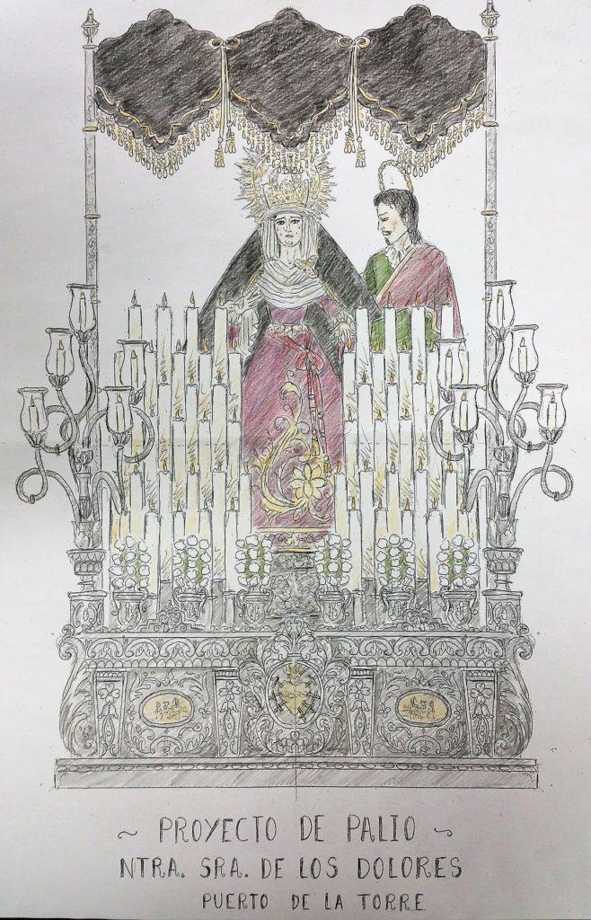 Benefactores Trono de la Virgen