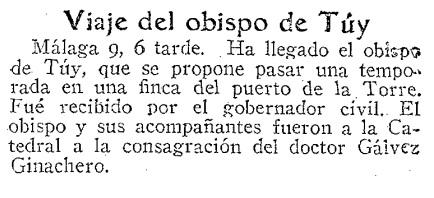 Noticia ABC (Mádrid). Pg 39 , 10 de enero de 1931