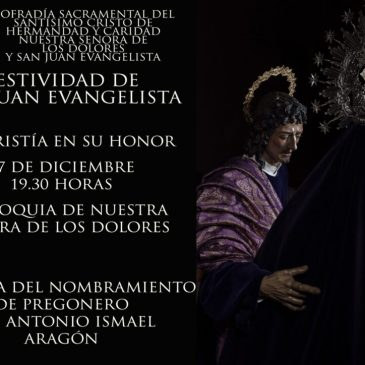 Festividad de San Juan Evangelita y entrega de nombramiento de Pregonero