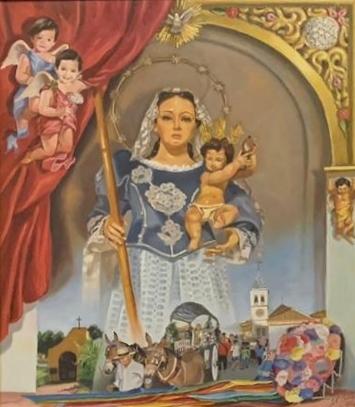 Presentación del cartel de la Virgen de las Cañas