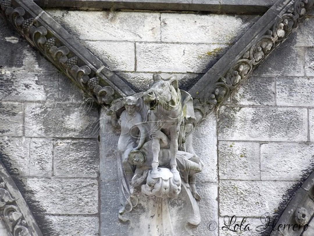 Gárgola Catedral Cork (Irlanda) 157