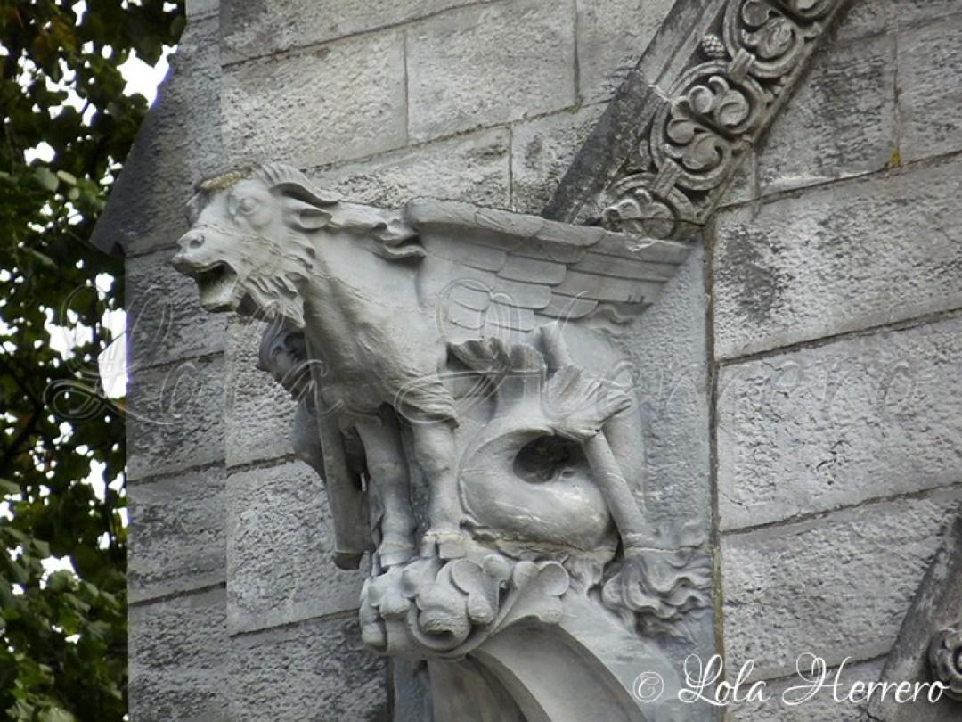 Gárgola Catedral Cork (Irlanda) 159
