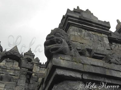 Gárgola de Borobudur, Java Central (Indonesia)