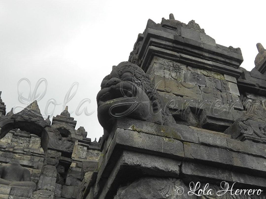 Gárgola Borobudur (Indonesia) 122