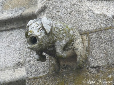 Gárgola de la Catedral de Guarda (Portugal)