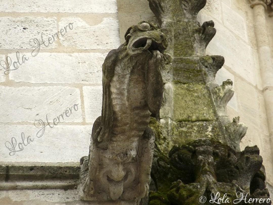 Gárgola Catedral Burdeos (Francia) (377)