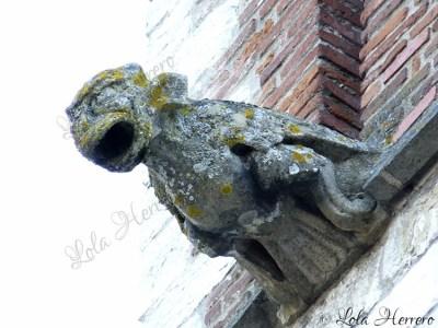 Gárgola de la Catedral de Cahors (Francia)