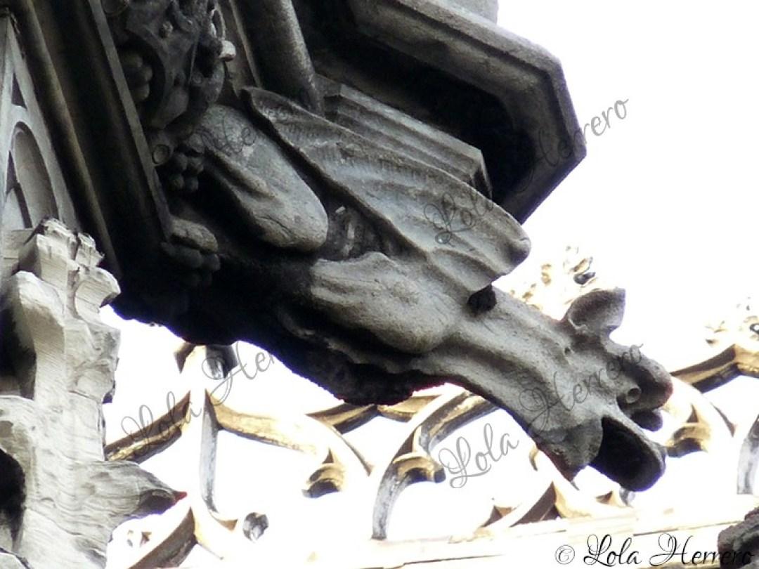 Gárgola La Maison du Roi, Bruselas (Bélgica) (357)
