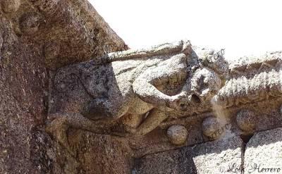 Gárgola de la Parroquia de San Pedro de Gata (Cáceres)