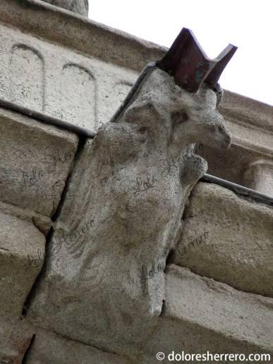 Gárgola de la Catedral de Ávila