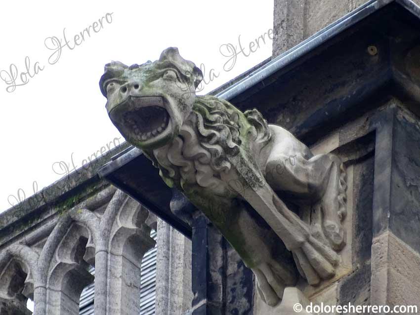 simbología animal gárgolas