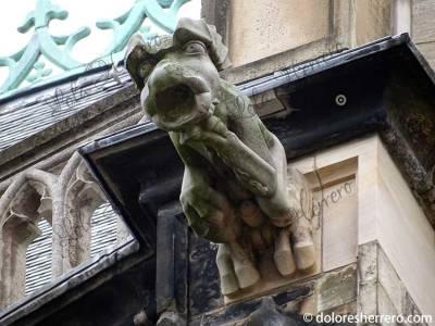 Gárgola de la Catedral de Aquisgrán (Alemania)