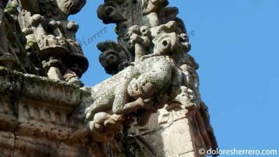 Gárgola de la Catedral de Braga (Portugal)