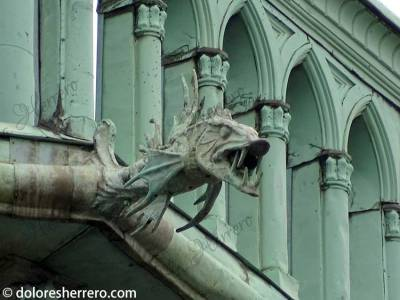 Gárgola de la Catedral de Luxemburgo.